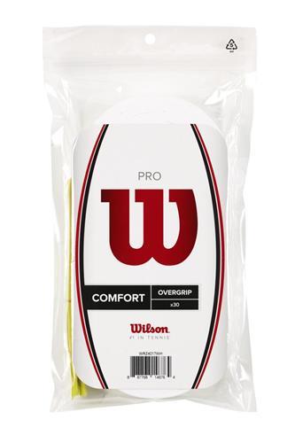 Wilson Pro Comfort Overgrip 30pk (White)