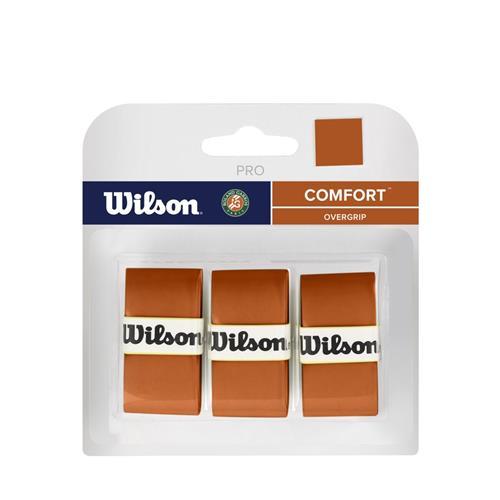 Wilson Roland Garros Pro Overgrip 3pk (Clay)