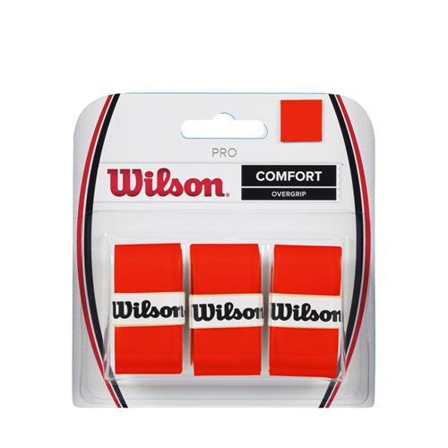 Wilson Pro Comfort Overgrip 3pk (Burn)