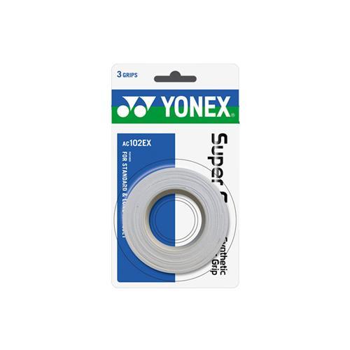 Yonex Super Grap Overgrip 3pk (White)