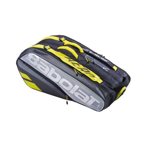 Babolat Pure Aero VS 9 Racquet Bag (Black/Yellow)