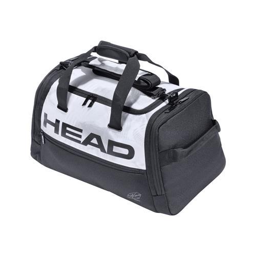 Head Djokovic Duffle Bag (White/Black)