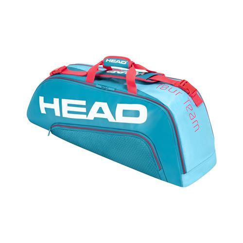 Head Tour Team 6 Racquet Combi (Blue/Pink)