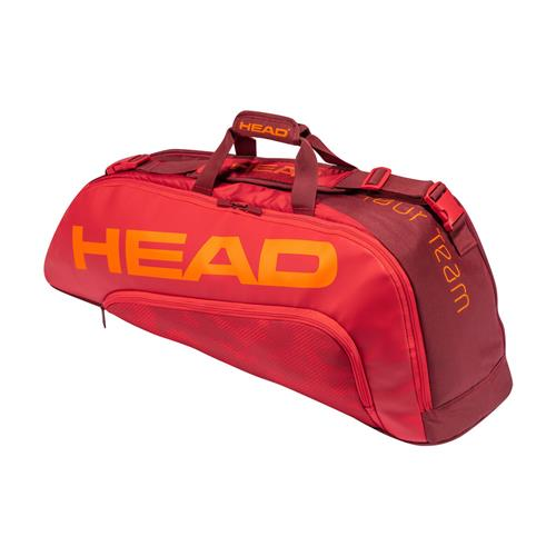 Head Tour Team 6 Racquet Combi (Red/Red)