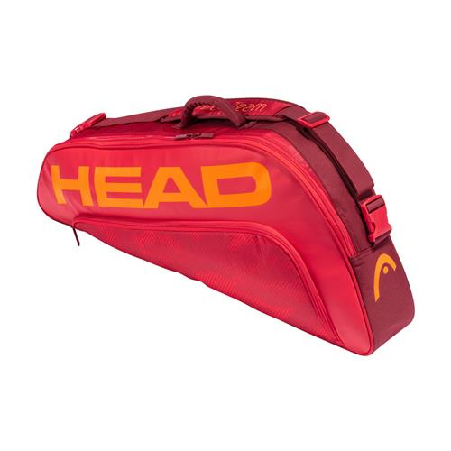 Head Tour Team 3 Racquet Pro Bag (Red/Red)