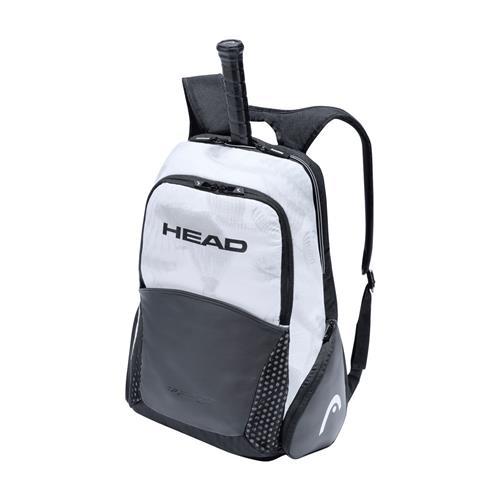 Head Djokovic Back Pack 2021 (Black/White)