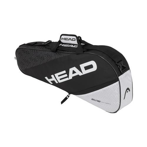 Head Elite 3 Racquet Pro Bag (Black/White)