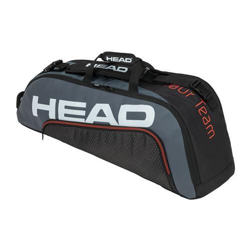 Head Tour Team 6 Racquet Combi 2021 Tennis Bag (Black/Grey)
