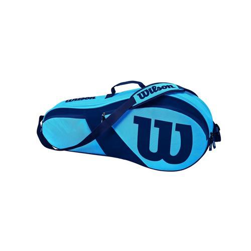 Wilson Match III 3 Pack Racquet Bag (Blue)
