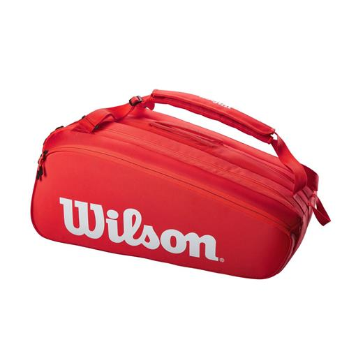 Wilson Super Tour 15 Pack Racquet Bag (Red)