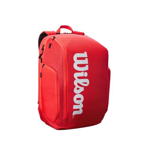 Wilson SuperTour Backpack Racquet Bag (Red)