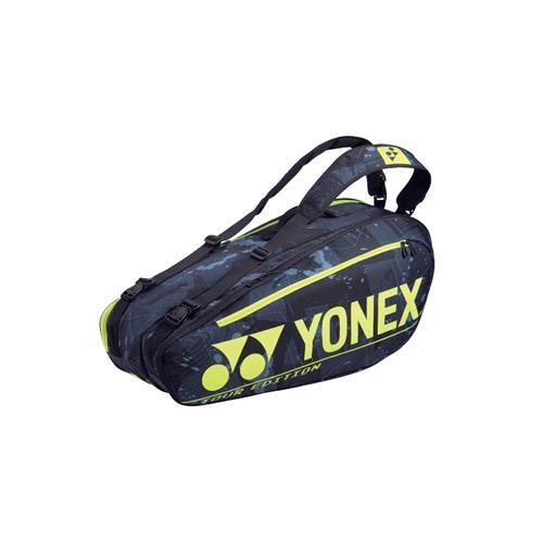 Yonex Pro Racquet Bag 6 Pack BA92026EX (Black/Yellow)