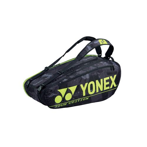 Yonex Pro Racquet Bag 9 Pack BA92029EX (Black/Yellow)