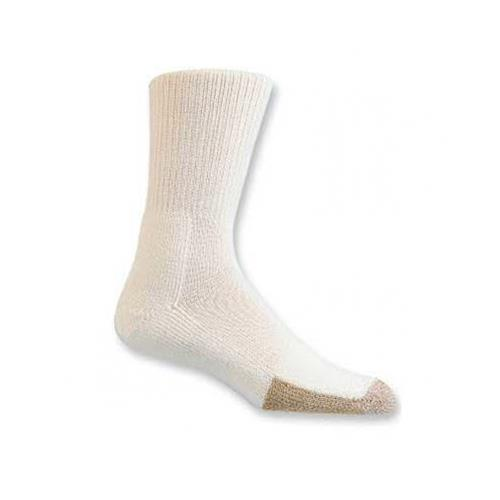 Thorlo TX13 Tennis Crew Socks (White/Brown)