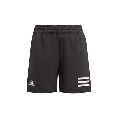 Adidas Boys Club 3 Stripe Short (black)
