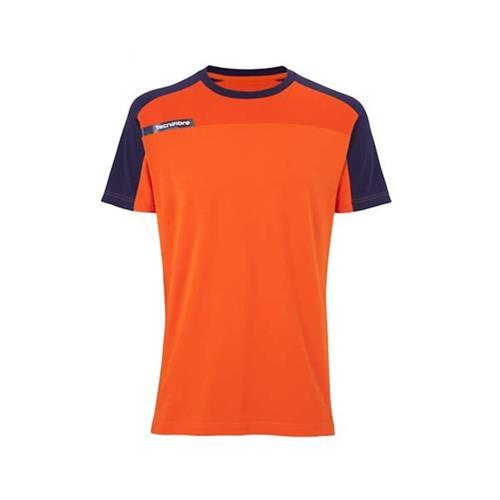 Tecnifibre Boys F1 Stretch Tee (Orange)