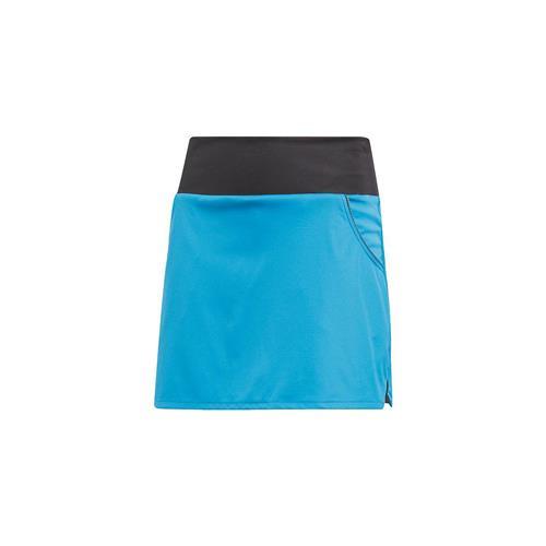 Adidas Girls Club Skirt (Shock Cyan)