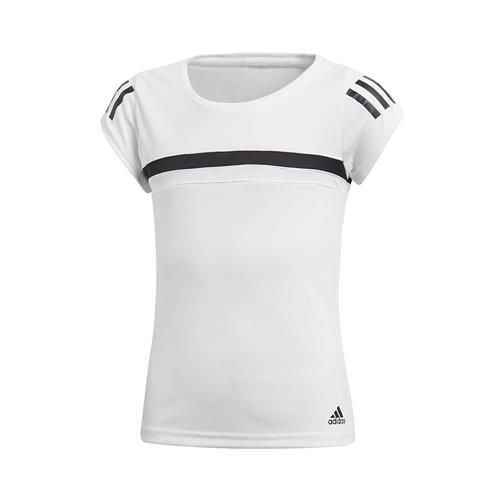 Adidas Girls Club Tee (White)