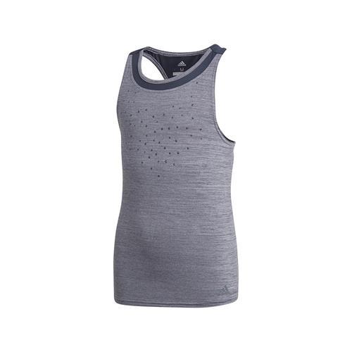 Adidas Girls Dotty Tank (Grey)