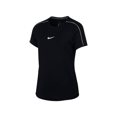 Nike Court Dri-Fit Big Kids Girls Tennis Top (Black)