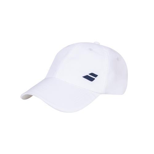 Babolat Basic Logo Junior Cap (White/White)