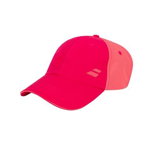 Babolat Basic Logo Junior Cap (Red Rose)