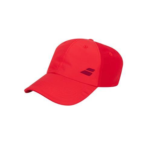 Babolat Basic Logo Junior Cap (Tomato Red)