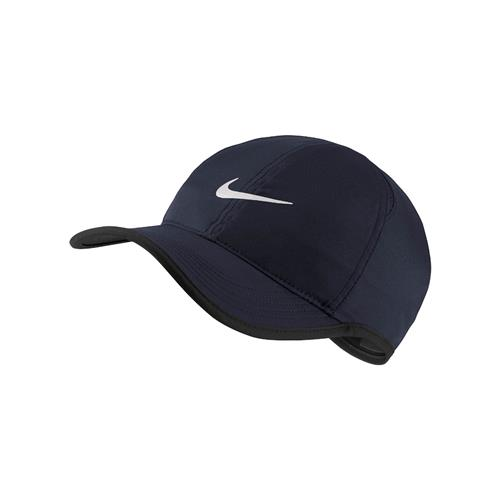 Nike AEROBILL Featherlight Adult Unisex Cap (Obsidian Black/White)
