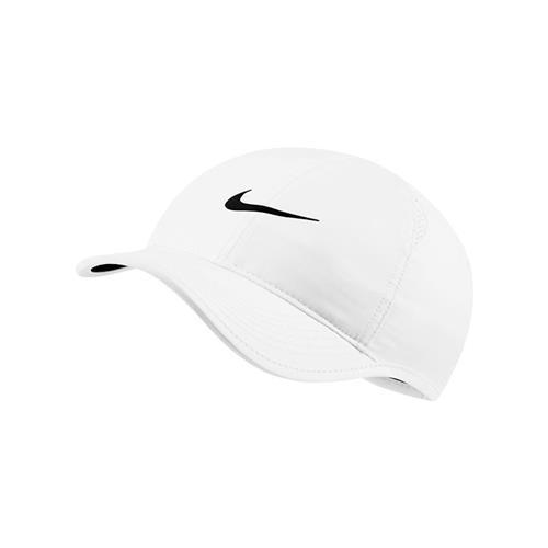 Nike AEROBILL Featherlight Womens Cap (White/White/Black/Black)