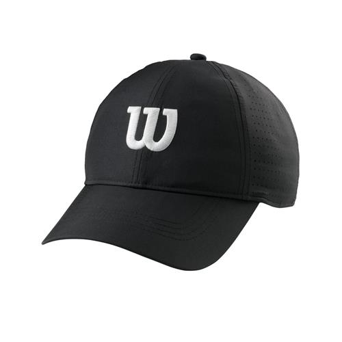Wilson Ultralight Tennis Cap (Black)