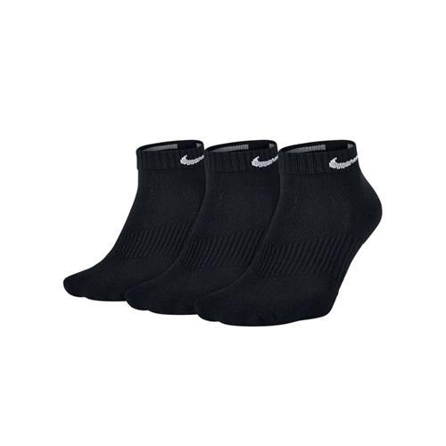 Nike Performance Cotton Cushioned Socks 3 Pack (Black/White)