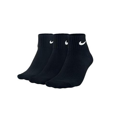 Nike Performance Cotton Cushioned Socks 3pk (Black/White)