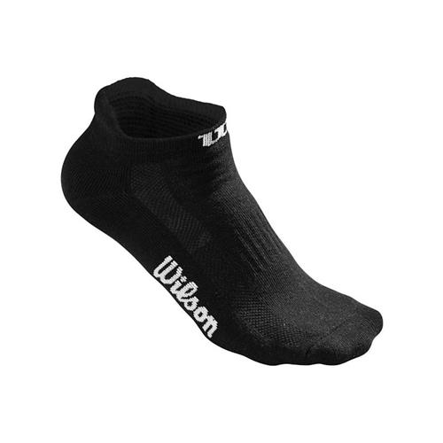 Wilson Women's No Show Sock 3 Pk (Black)