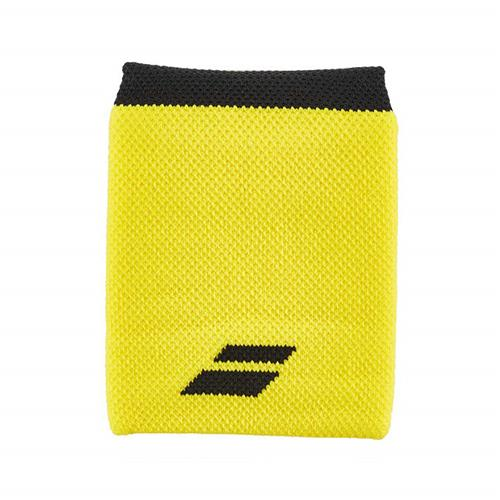 Babolat Logo Wristband Jumbo (Yellow/Black)
