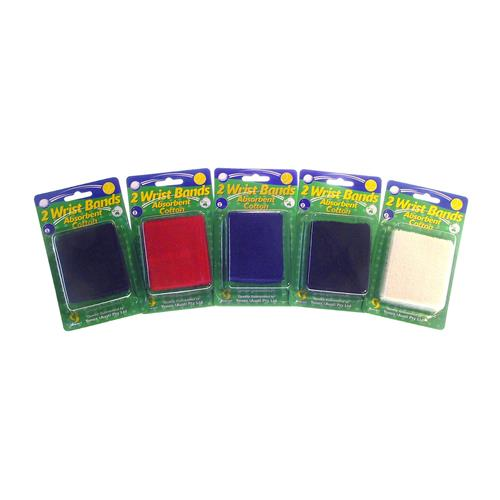 Eye Cue Wrist Bands 2pk (Assorted Colours)