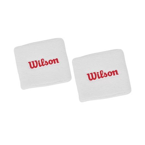 Wilson Sweatband 2 Pack (White)