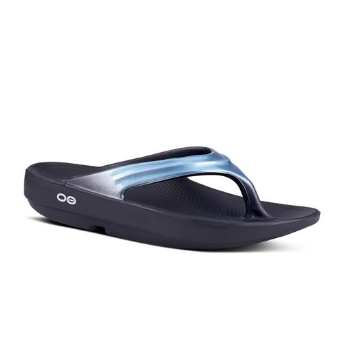 OOFOS OOlala Women (Metallic Blue)