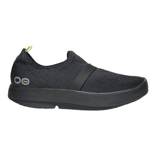 OOFOS OOmg Womens Low (Black/Black)