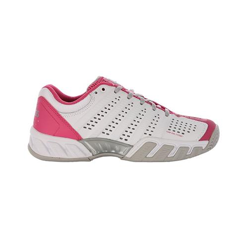 K-Swiss Bigshot Light 2.5 Womens Shoe (White/Pink)