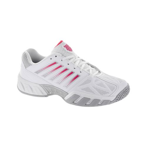 K-Swiss Bigshot Light 3 Womens Shoe (White/Coral)