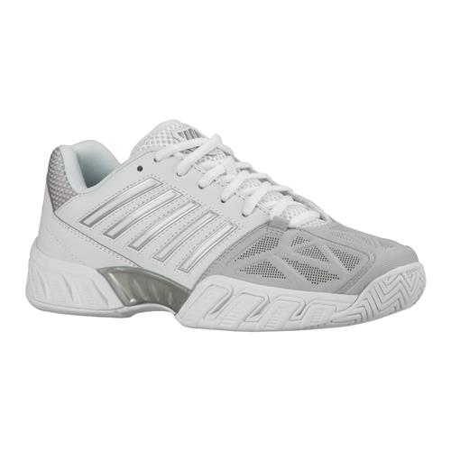 K-Swiss Bigshot Light 3 Womens Shoe (White/Silver)