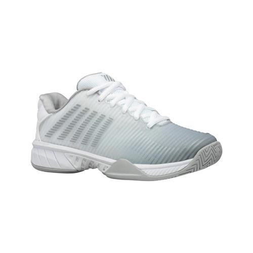 K-Swiss Hypercourt Express 2 All Court Womens Shoe (Wht/Sil)