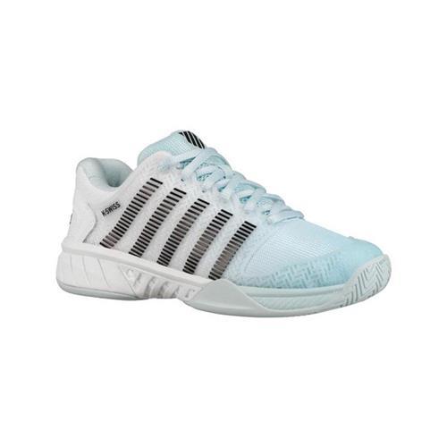 K-Swiss Hypercourt Express Womens Shoe (Blue/Blk/Wht)