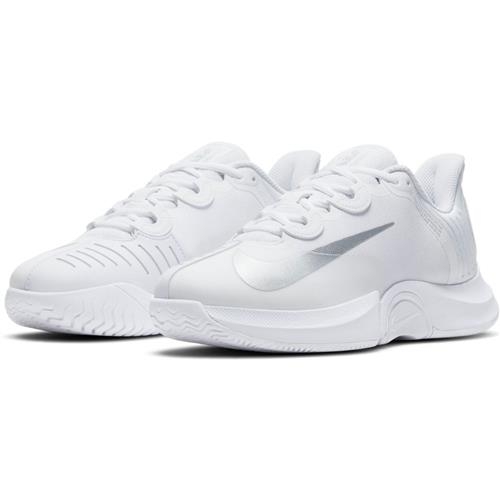 Nike Air Zoom GP Turbo HC Womens Shoe (White/MetallicSilver)