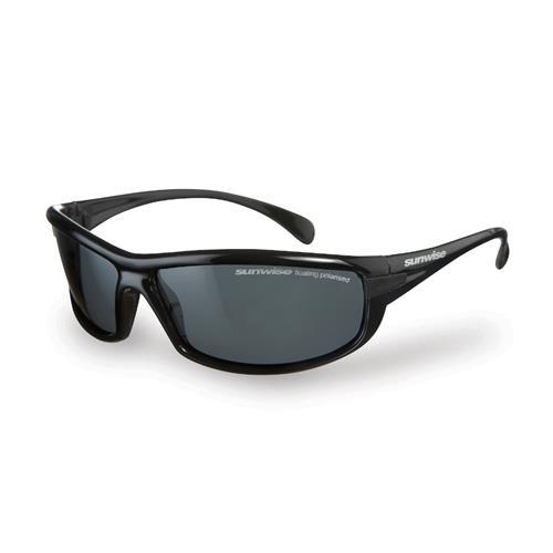 Sunwise Canoe Black Sunglasses