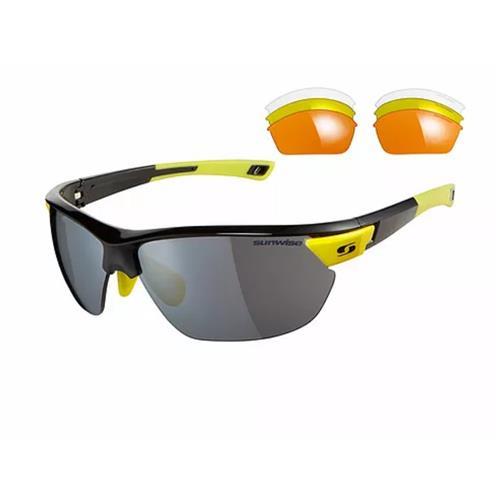 Sunwise Kennington Black Sunglasses