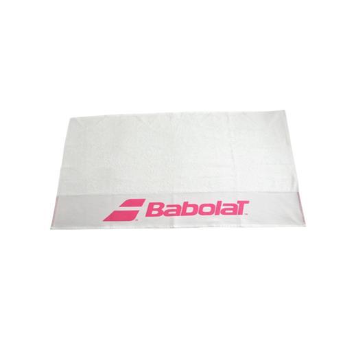 Babolat Towel 101 X 52cm (White/Pink)