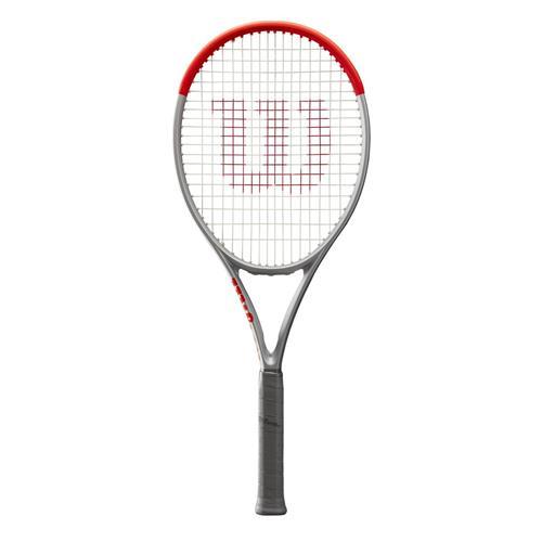 Wilson Clash 100 Pro Silver Roland Garros Tennis Racquet