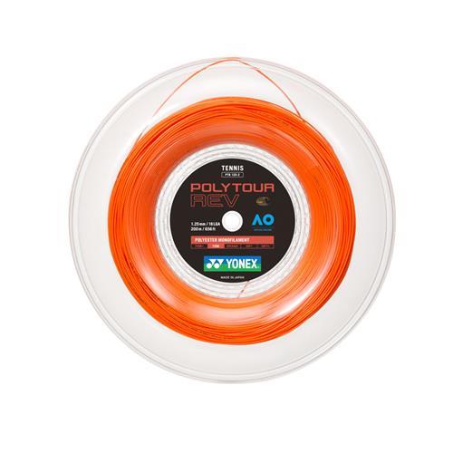 Yonex Poly Tour Rev 125/16L 200m Reel (Bright Orange)