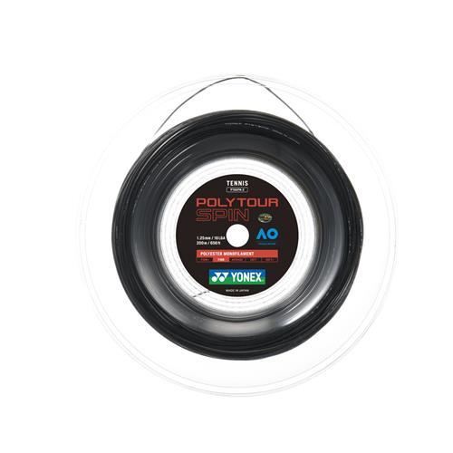 Yonex Poly Tour Spin 125-16L 200m Reel (Black)